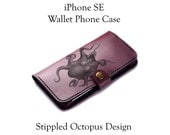 iPhone SE Leather Octopus...