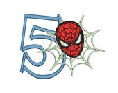 Spiderman Embroidery Design, Spider-Man Embroidery Design (248) Instant Download