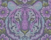 Tula Pink Eden Crouching Tiger One Yard Of Fabric READY TO SHIP!!!
