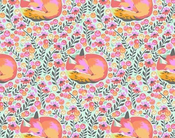 Tula Pink Chipper Fox Nap One Yard of Fabric READY TO SHIP!!!