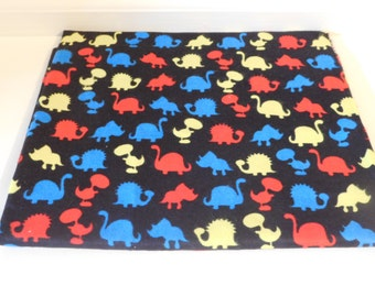 Flannel Fabric - Dinosaur, Cars and Trucks, Whales