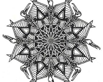 "DarksideArt's Fine Art Print "" Oozlums Deviare """