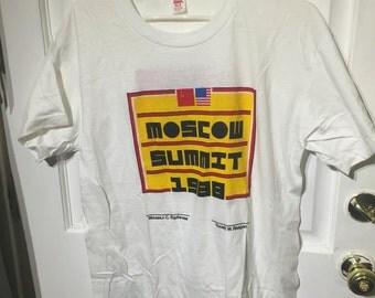 1988 Moscow Summit tshirt
