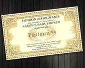 Harry Potter Baby Shower Invitation, Printable, Custom