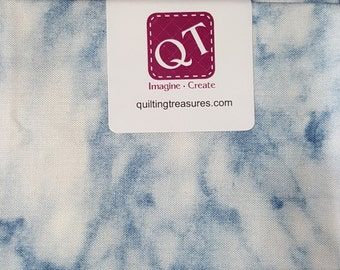 Fat Quarter, Marble, Naturals by Quilting Treasures, Landscape Fabric, Marble Fabric, Blue Marble Fabric