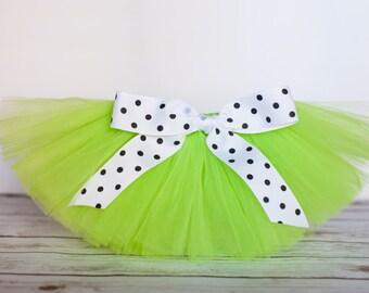 """Neon lime green tutu """"Annette"""" Newborn tutu baby tutu girls tutu skirt photo prop costume 3 months 6 months 9 months 12 months 18 months"""