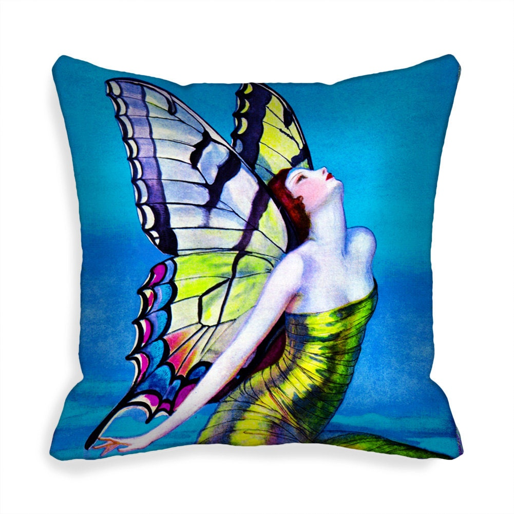 18 inch Decorative Throw Pillow Cover 18x18 Cushion Cover blue