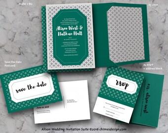 ALISON Invitation Suite Printables