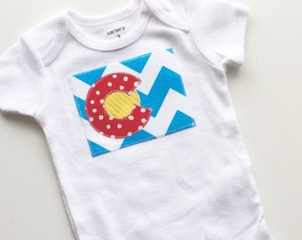 Colorado onesie shirt Colorado Baby onesie