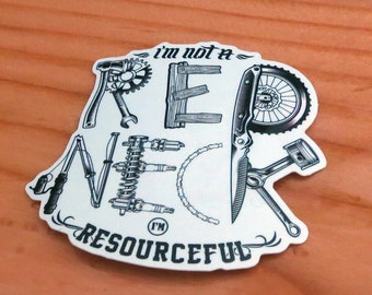 Ultimate Redneck Die-Cut Sticker, Funny Sticker