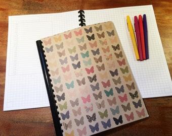 Bullet Journal, Planner - Butterfly Bullet Journal, Planner, Notebook