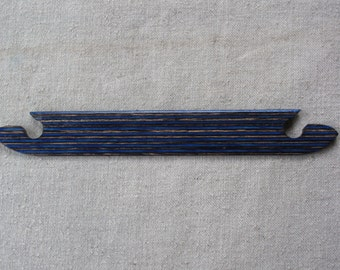 Exotic Blue Weaving Shuttle (Inkle or Card Weaving)