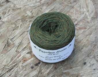 JaggerSpun 2/8 Moss Heather Wool Yarn