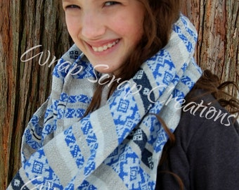Wrap Scrap Creations Infinity Scarf - Heartiness