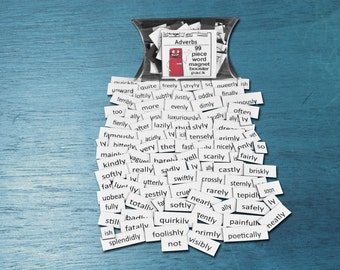 Adverbs Magnets Booster Magnet Word Set