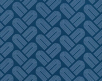 Macrame - Braidy in Teal - Rashida Coleman-Hale for Cotton + Steel - 1934-2