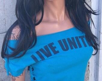 Live United Shredded Shirt
