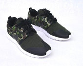 Custom Hand Painted Camouflage Nike Tech Fleece Roshe One