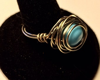 Ice Goddess Wire Ring