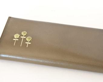 Vintage Lady Buxton Olive Green Wallet, Vintage Ladies Wallet