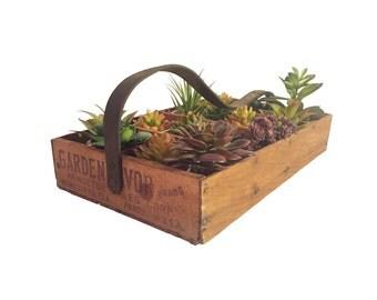Vintage Garden Box Planter