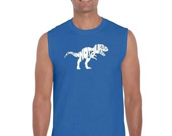 Men's Sleeveless Shirt - TYRANNOSAURUS REX