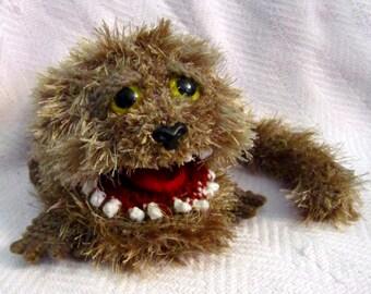 Fizzgig Dark Crystal Crochet Amigurumi