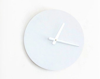 Large White Wall Clock, Wood Clock, Trending,  Decor and  Housewares, Home and Living