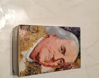 avon ben franklin decanter in original box