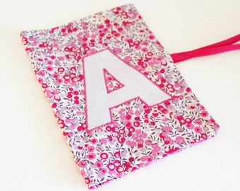 Protect Health Child notebook Liberty Wiltshire Bougainvillea - ON ORDER