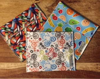 Reusable Sandwich Bags, Reusable Large Snack Bags, Reusable Lunch Bags