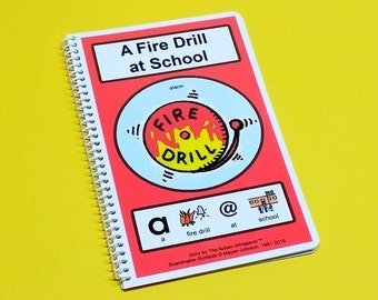 A Fire Drill at School - Autism Social Story - Preschool and Elementary School Level - by The Autism Whisperer- Social Skills Story