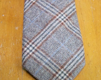Authentic Hickey Freeman  Wool/Cashmere Blend Tie