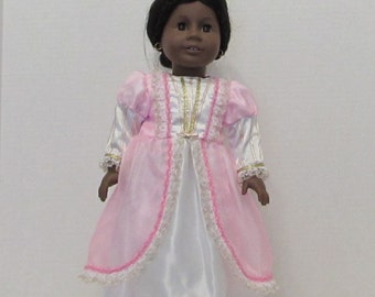 "Pretty princess in pink for your 18"" American Girl dolls"