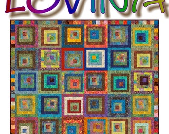 NEW - LOVINA - Quilt-Addicts Patchwork Quilt Pattern