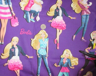 Barbie Fabric Sold by the Yard