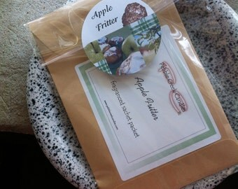 Sachet Scented Apple Fritter Housewarming Gift Personalized Under Five Dollars Long Distance Favor Scented Home Decor