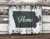 Custom State Hand Painted Sign