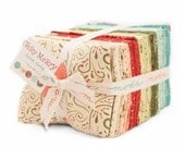 Very Merry Fat Quarter Bundle by Sandy Gervais for Moda - One Fat Quarter Bundle -
