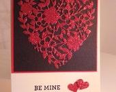 Glitter Valentine's Card