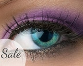 "25% OFF - Matte Purple Eyeshadow - ""Wildflower"" - Vegan Mineral Eyeshadow Net Wt 2g Natural Mineral Makeup Eye Color Pigment"