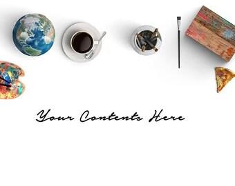 Web Stock Photography Image   Artist Stock   Paint Coffee    Styled Product Photography   Mockup Design   Advertising   Marketing   Backdrop