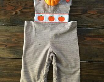 InStock Peter Pumpkin Smocked Longall