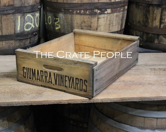 Vintage New-Old Stock VINEYARD Crate | hundreds available | vintage crates