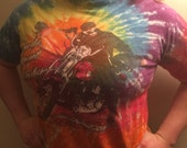 Vintage Harley Davidson T-Shirt Things Are Different On A Harley Tie Dye 1992 State College