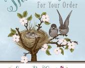 Custom Order for Kayrin Gutshall - Downton abbey shower invite