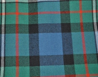 Ferguson Tartan Fabric. Ancient or Modern Available. 100% 10oz Pure New Wool. Remnant Piece.