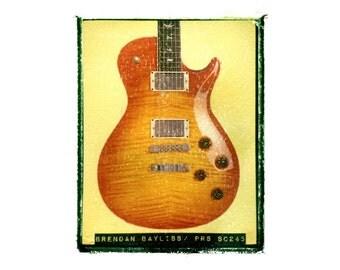 Brendan Bayliss Umphreys McGee guitar art print / music gift / rock n roll art / music room decor / guitar gift / man cave art