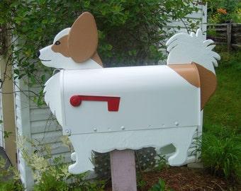 Dog mailboxes - Papillon mailbox