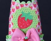 Strawberry Cutie Dog Harness